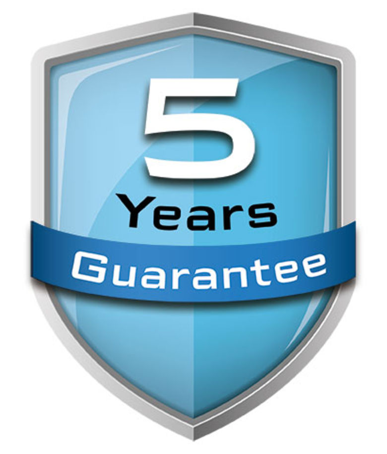 BRODSTAR 5 year guarantee