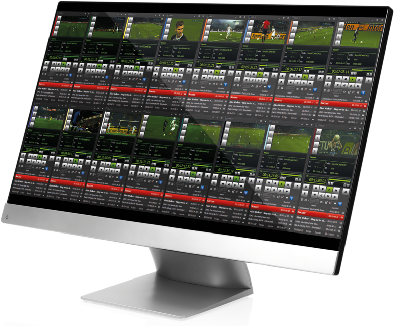 STRYME GENESIX STUDIO PLAYOUT